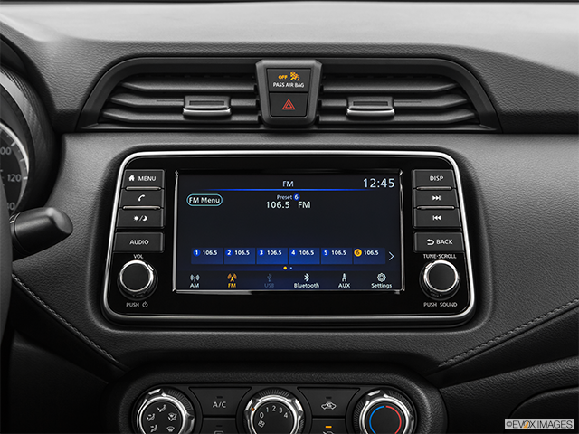 2020 Versa Sedan   Interior